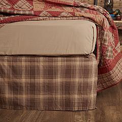 Dawson Star Twin Bed Skirt 39x76x16
