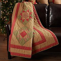 Dolly Star Quilted Throw 60x50