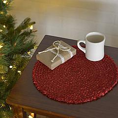 "Dyani Red 13"" Tablemat Set of 6"