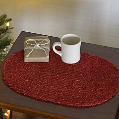 Dyani Red Placemat Set of 6 12x18