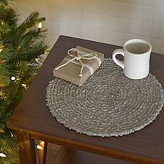 """Dyani Silver 13"""" Tablemat Set of 6"""