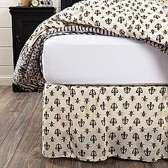 Elysee King Bed Skirt 78x80x16