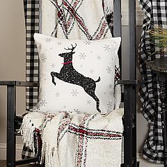 Emmie Deer Pillow 18x18