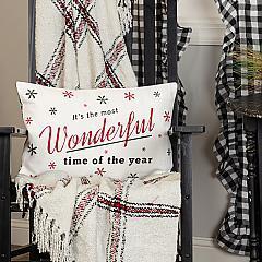 Emmie Wonderful Time Pillow 14x22
