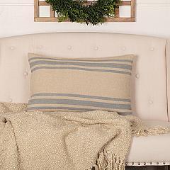 Farmer's Market Grain Sack Stripe Pillow 14x22