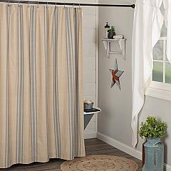 Farmer's Market Grain Sack Stripe Shower Curtain 72x72