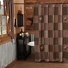 Farmhouse Star Shower Curtain 72x72