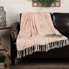 Genevieve Printed Woven Throw 60x50