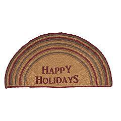 Happy-Holidays-Stencil-Jute-Rug-Half-Circle-16.5x33-image-2