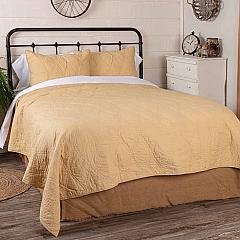 Harbour Sand Queen Quilt 90Wx90L