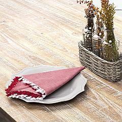 Harmony Red Napkin Set of 6 18x18