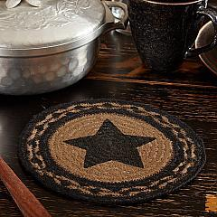 Farmhouse Jute Trivet Stencil Star 8