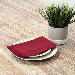Haven Red Napkin Set of 6 18x18