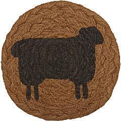 Heritage-Farms-Sheep-Jute-Coaster-Set-of-6-image-2
