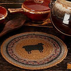 Heritage Farms Sheep Jute Trivet 8