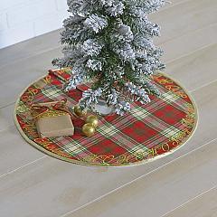 HO HO Holiday Mini Tree Skirt 21