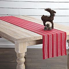 Holly Red Ribbed Runner 13x90