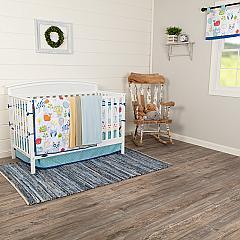 Ink Sketch Crib Set (Includes: Crib Quilt, Crib Sheet, Dust Ruffle, Bumper, Valance)