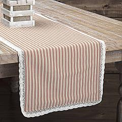 Kendra Stripe Red Runner 13x72