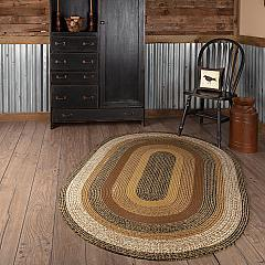 Kettle Grove Jute Rug Oval 48x72