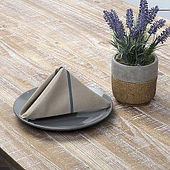 Lauren Steel Blue Napkin Set of 6 18x18