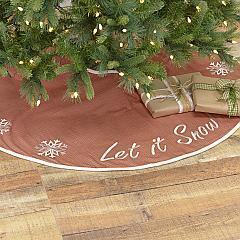 Let It Snow Tree Skirt 48