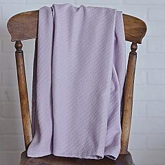 Lilac Baby Blanket 48x36