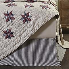 Lincoln King Bed Skirt 78x80x16