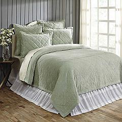 Lydia Sea Glass Queen Quilt 92Wx92L