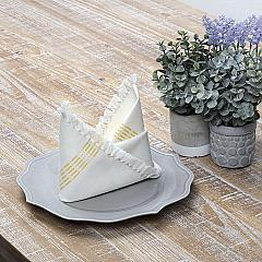 Madeline Yellow Napkin Set of 6 18x18