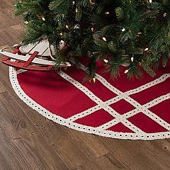 Margot Red Tree Skirt 55