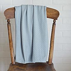 Medium Blue Baby Blanket 48x36
