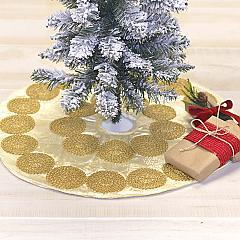 Memories Creme Mini Tree Skirt 21