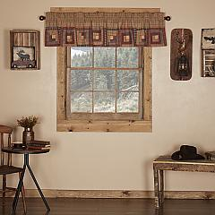 Millsboro Valance Log Cabin Block Border 16x72