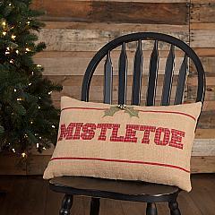 Mistletoe Pillow 14x22