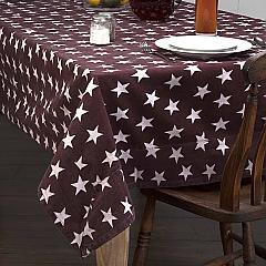 Multi Star Red Table Cloth 60x80