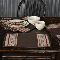 Merry Little Christmas Placemat Set of 6 12x18