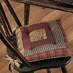 Millsboro Chair Pad Log Cabin Patch