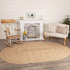 Natural Jute Rug Oval 60x96