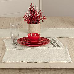 Nowell Creme Placemat Set of 6 12x18