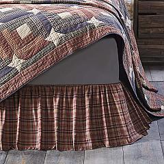 Parker King Bed Skirt 78x80x16