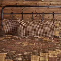 Prescott King Pillow Case Block Border Set of 2 21x40