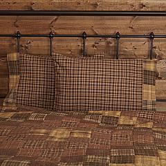 Prescott Standard Pillow Case Block Border Set of 2 21x30