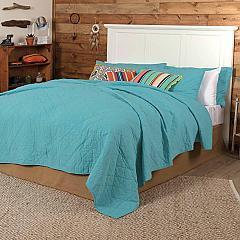 Pueblo Turquoise King Quilt 105x95