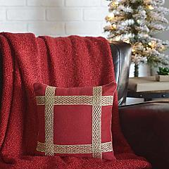 Revelry Trim Pillow 12x12