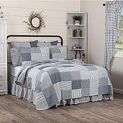 Sawyer Mill Blue Queen Quilt 90Wx90L