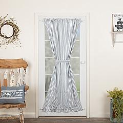 Sawyer Mill Blue Ticking Stripe Door Panel 72x40