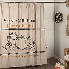 Sawyer-Mill-Charcoal-Harvest-Festival-Shower-Curtain-72x72-image-1
