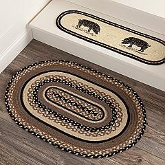 Sawyer Mill Charcoal Jute Rug Oval 20x30