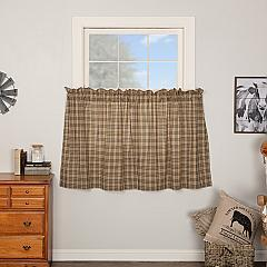Sawyer Mill Charcoal Plaid Tier Set of 2 L36xW36
